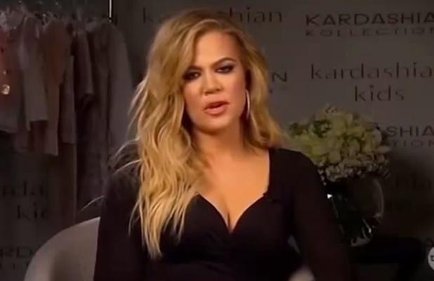 Khloe Kardashian on Australia's The Project 30 July 2015