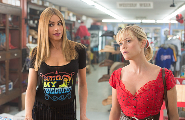 Hot Pursuit film still: Sofia Vergara and Reese Witherspoon
