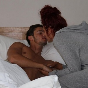 Amy Childs and boyfriend Bradley Wright 1 August