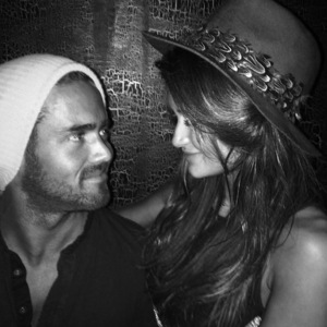 Lauren Hutton and Spencer Matthews celebrate first anniversary 6 August