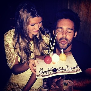 Spencer Matthews celebrates birthday with Lauren Hutton 6 August