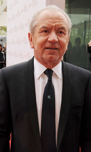 Lord Alan Sugar attends the Arqiva British Academy Television Awards 2013 at the Royal Festival Hall on May 12, 2013 in London, England.