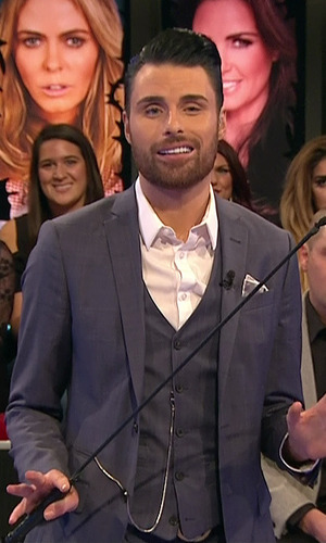 Rylan Clark - Celebrity Big Brother's Bit On The Side, Shown on Channel 5 HD. 21 January 2015.