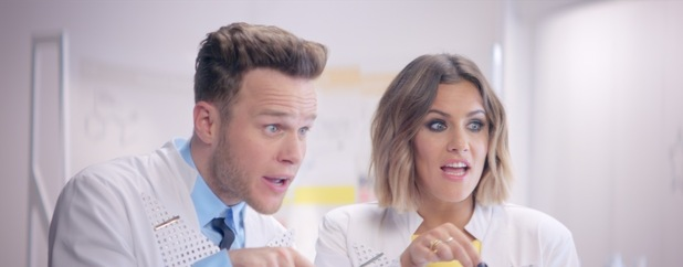 Olly Murs and Caroline Flack star in new X Factor 2015 trailer - 2 august 2015.