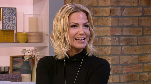 Sarah Harding on ITV's This Morning - 3 August 2015.
