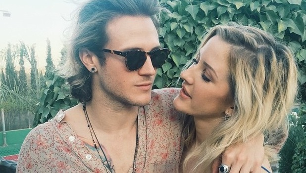 Ellie Goulding and Dougie Poynter in Ibiza 4 August