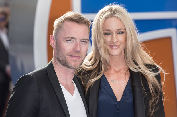 Ronan Keating and Storm Uechtritz at the 'Tomorrowland' European premiere held at the Odeon Leicester Square - 17 May 2015.