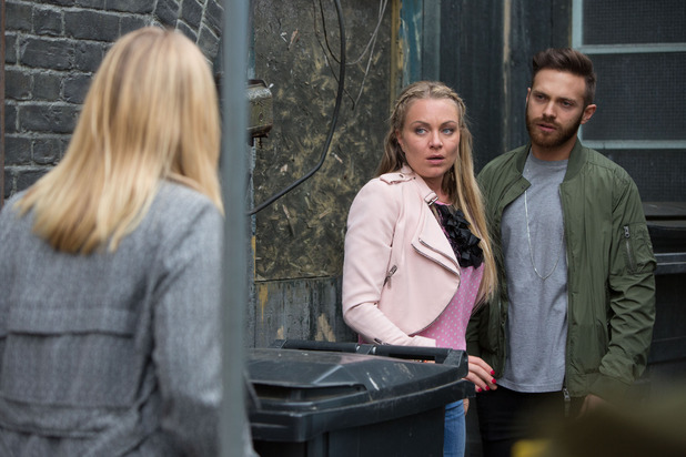 EastEnders, Ronnie catches Roxy and Dean, Tue 4 Aug