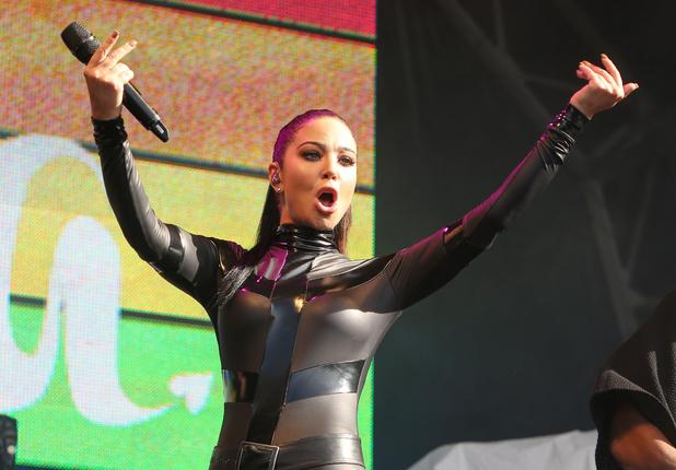 Tulisa in concert at Brighton Pride, Britain - 01 Aug 2015.