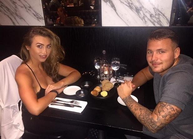 Lauren Goodger and Jake McLean, London 2 August