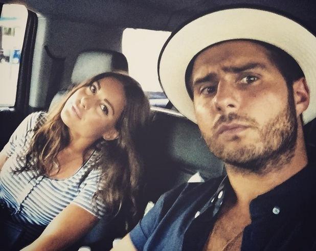 Louise Thompson and Alik Alfus in LA July