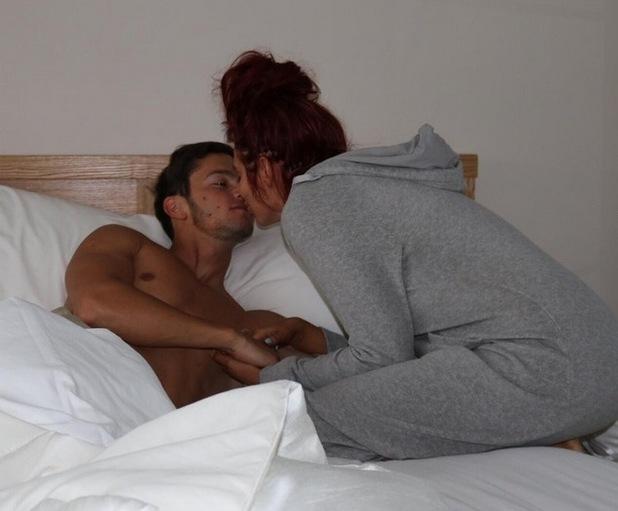 Amy Childs and boyfriend Bradley Wright 1 August