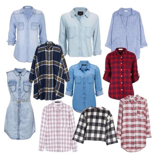 Brooke Vincent, Denim shirts 3 August