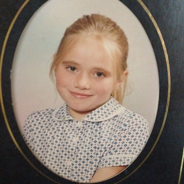 Amy Childs shares throwback school photo of herself aged nine, 7th August 2015