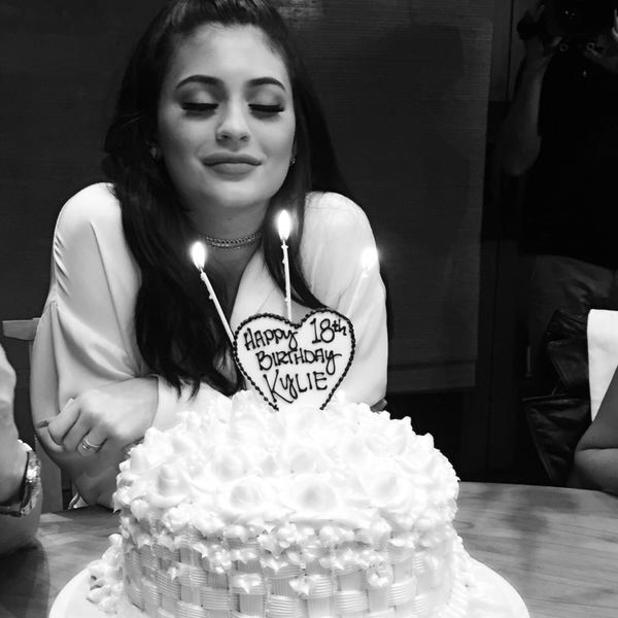 Kylie Jenner turns 18, 8 August 2015