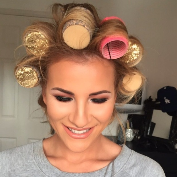 TOWIE's Georgia Kousoulou posts make-up selfie to Instagram, 7th August 2015
