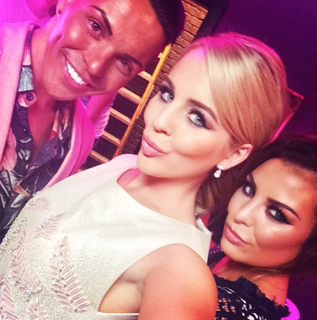 TOWIE's Jessica Wright, Bobby Norris and Lydia Bright filming secret project - 5 August 2015.