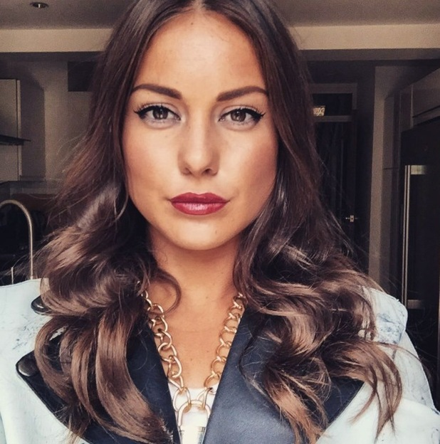 Made In Chelsea's Louise Thompson showcases her new highlights, 7th August 2015