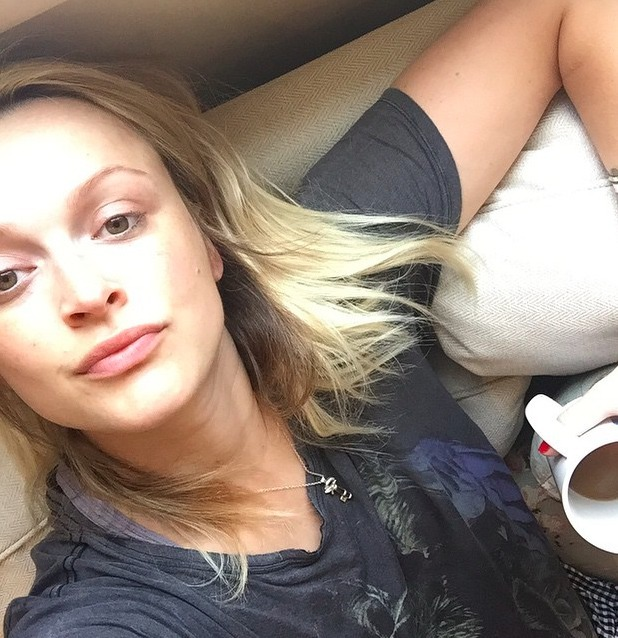Fearne Cotton shares close-up selfie, 8 August 2015