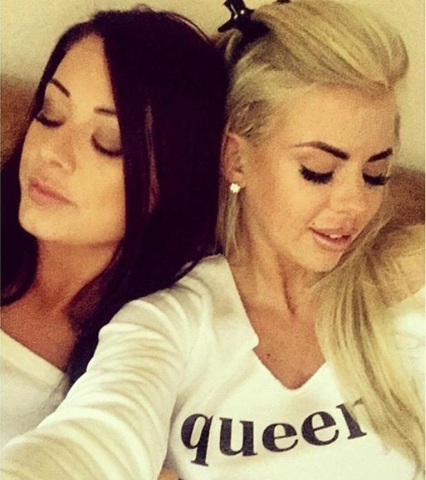 Hannah Elizabeth and Jess Hayes selfie 5 August