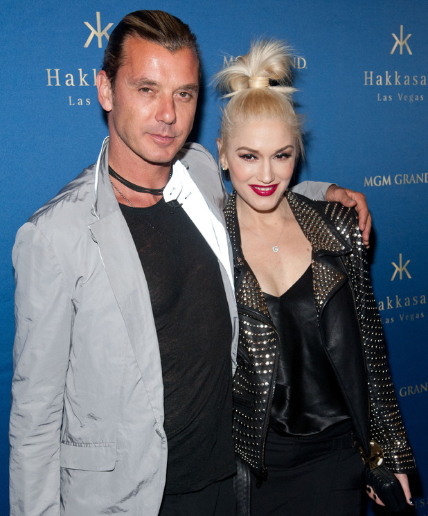 Gavin Rossdale and Gwen Stefani at Hakkasan Las Vegas One Year Anniversary at the MGM Grand, America - 26 Apr 2014.