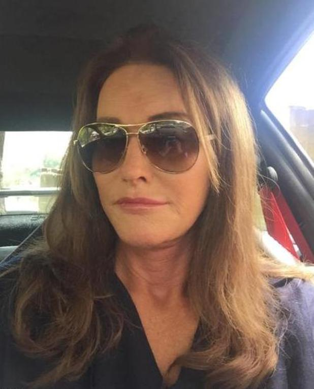 Caitlyn Jenner shares her very first selfie with fans - 6 August 2015.