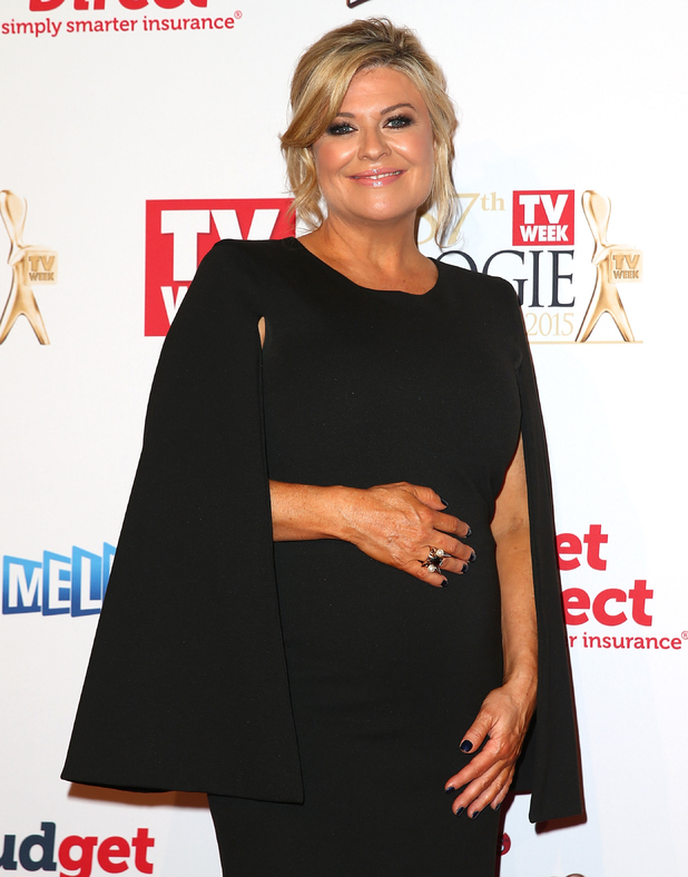 Emily Symons arrives at the 57th Annual Logie Awards at Crown Palladium on May 3, 2015 in Melbourne, Australia.