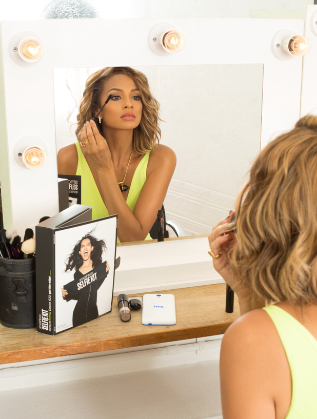 Alesha Dixon appears in Smashbox X HTC UK selfie campaign, picture two 6th August 2015