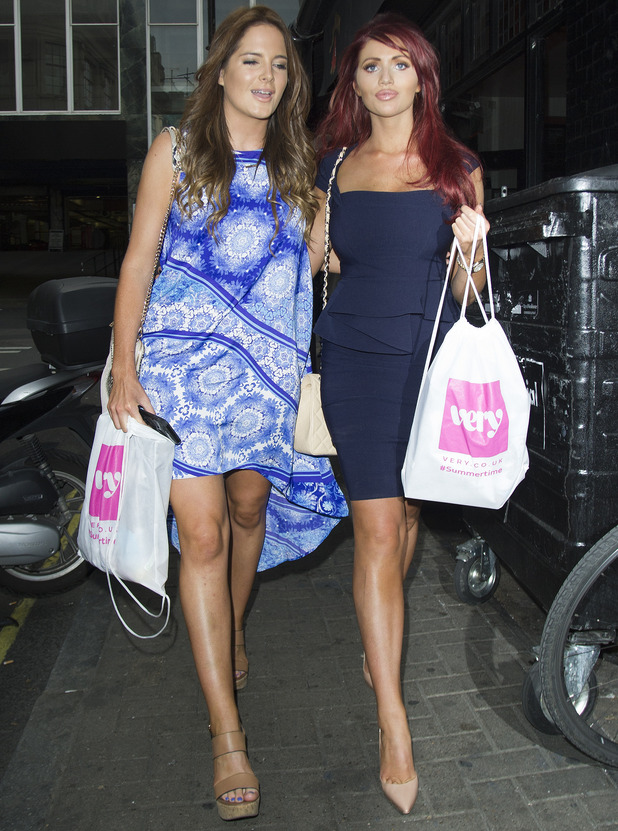Binky Felstead and Amy Childs, Very Summertime Launch 6 August