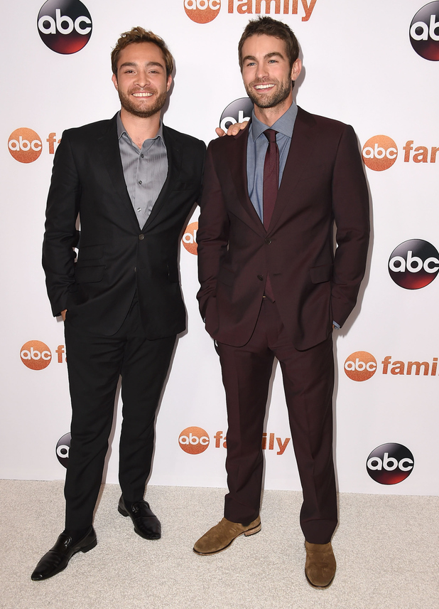 Ed Westwick, Chace Crawford aka the smiley twins have Gossip Girl reunion - Celebrity News News ...