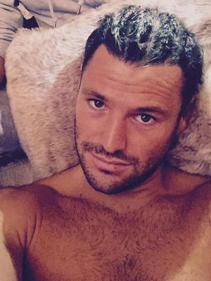 Mark Wright lets wife Michelle Keegan loose on her hair, 14 August 2015