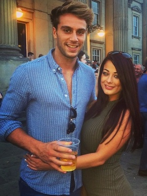 Jess Hayes and Max Morley brush off split reports and spend the weekend together at a pub in Huddersfield - 8 August 2015.