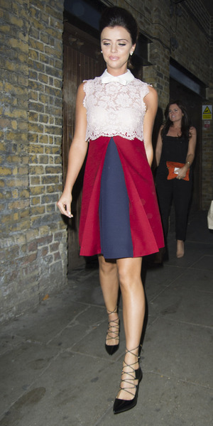Lucy Mecklenburg celebrates her 24th birthday with friends in London's Gilgamesh, 15 August 2015
