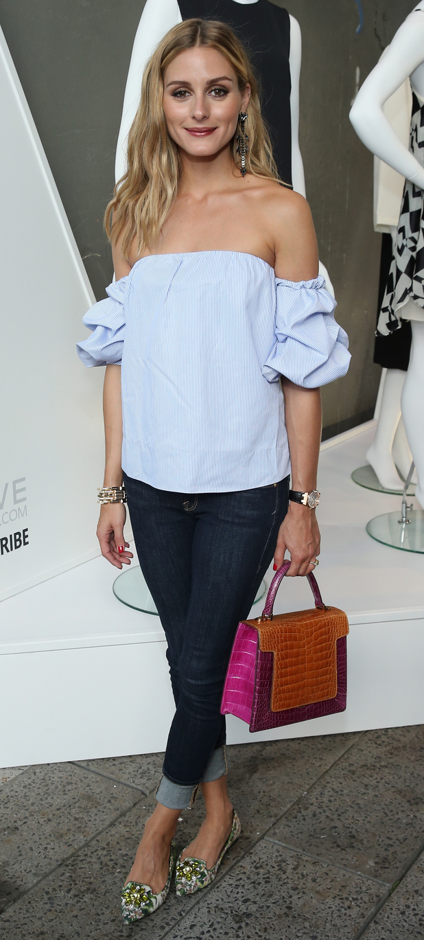 Olivia Palermo at Revolve Fashion Party in New York 13th August 2015