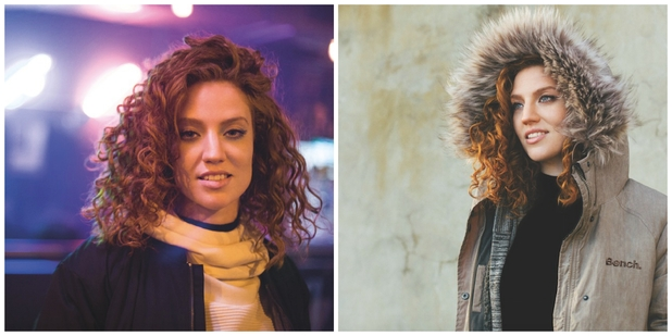 Jess Glynne stars in the new Bench campaign, August 2015