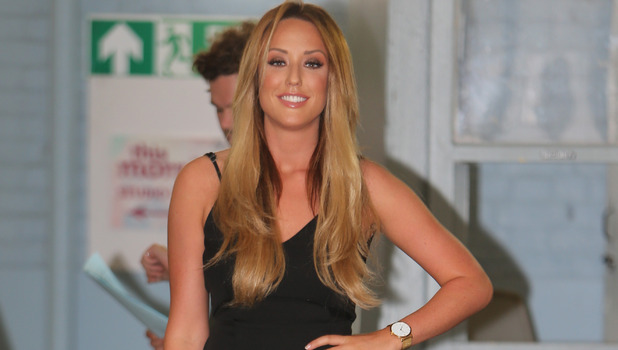Charlotte Crosby outside ITV studios, London 12 August