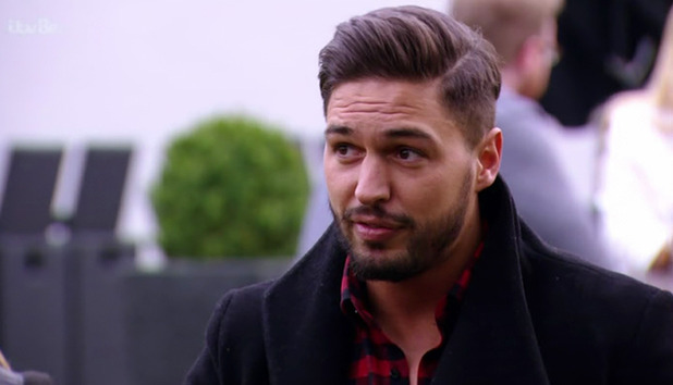 TOWIE: Tommy Mallet meets up with Mario Falcone for a drink, Mario compares Chloe Lewis to a ferrari. 23/3/2015.