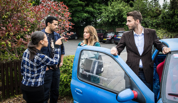 Corrie, Maria caught out, Fri 14 Aug