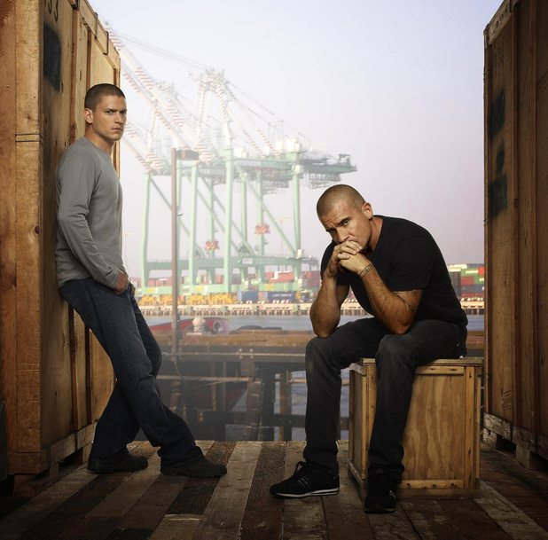 Wentworth Miller and Dominic Purcell - Prison Break' (FOX) Season 4, 2008-2009