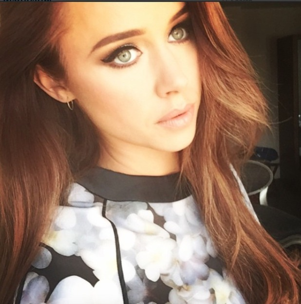 Una Foden, RTÉ One Television press call, make-up by Michelle Regazzoli-Stone, 13 August 2015