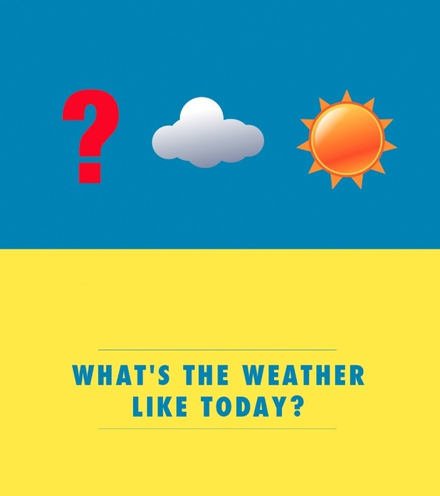 'What's the weather like today?' Emoji phrases to help brits abroad, August 2015
