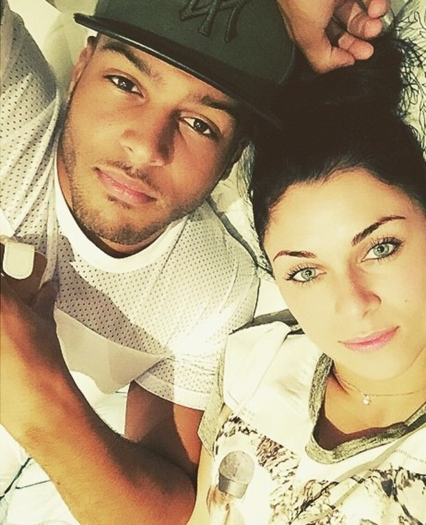 Luis Morrison and Cally Jane Beech selfie 9 August
