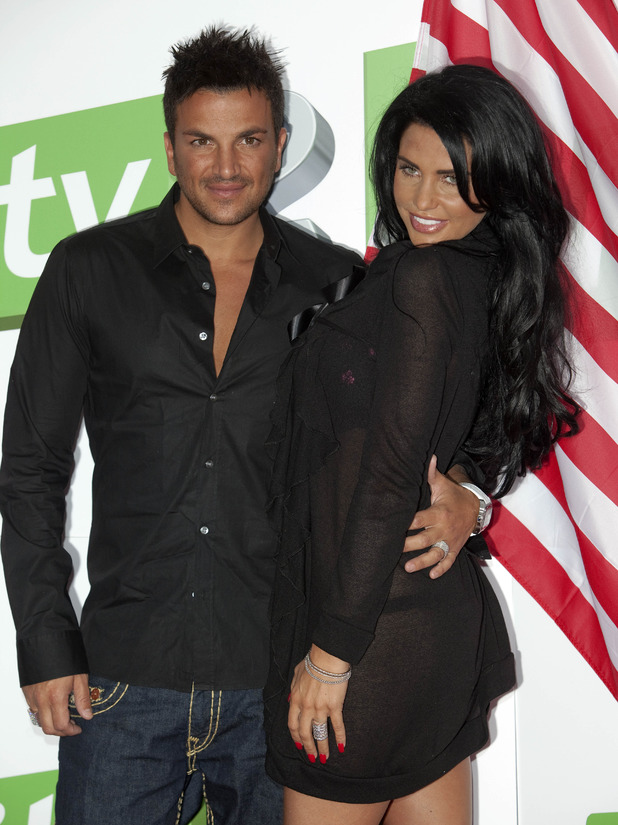 Katie Price and Peter Andre launch their new show Katie & Peter: The Next Chapter Stateside For Itv2, At The Soho Hotel In Central London.