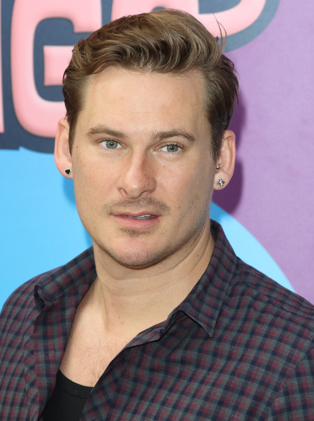 Blue's Lee Ryan at '3 Little Pigs ' - VIP Performance at the Palace Theatre, Shaftesbury Avenue, London on August 6th 2015.
