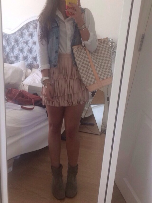 Brooke Vincent Blog: Friday Outfit 10 August