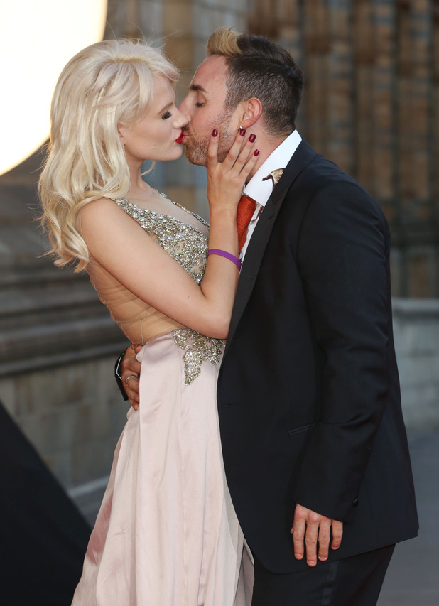 Stevi Ritchie and Chloe-Jasmine Whichello at the Believe In Magic Cinderella Ball - 10 August 2015.