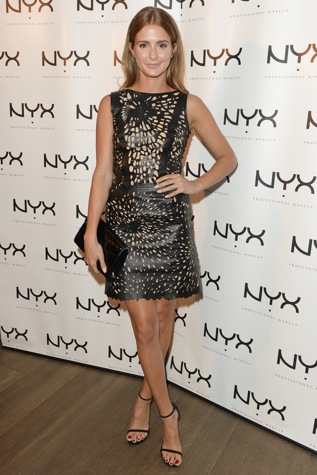 Millie Mackintosh attends NYX Cosmetics Face Awards UK, 13 August 2015