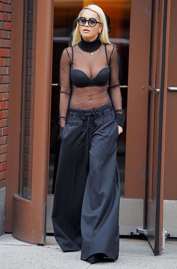 Rita Ora out and about, New York, America - 11 Aug 2015.