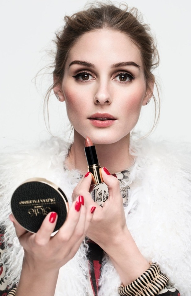 Olivia Palermo launches brand new beauty collection with Ciate, shot two compact mirror 13th August 2015