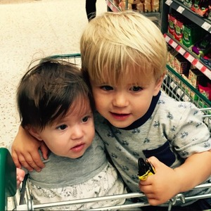 Dan Osborne shares cute photo of daughter Ella and son Teddy, 21 August 2015
